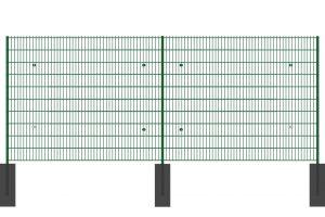Zeichnung der Ansicht vom Lärmschutzzaun