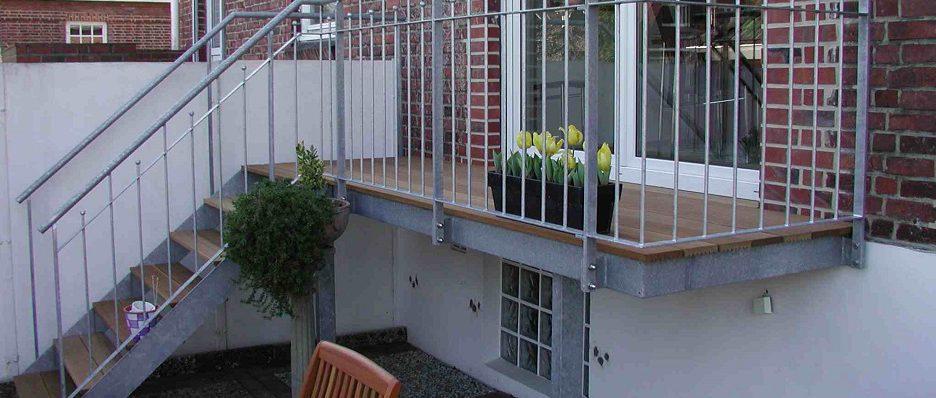 Balkon vorgestellt
