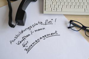 Ausbildung Büromanagement