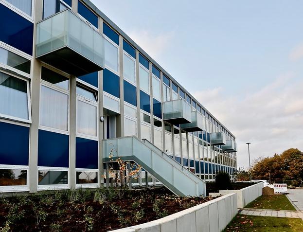 Stahlbau, Balkon, Treppe, Sanierung, Denkmalschutz Gawron