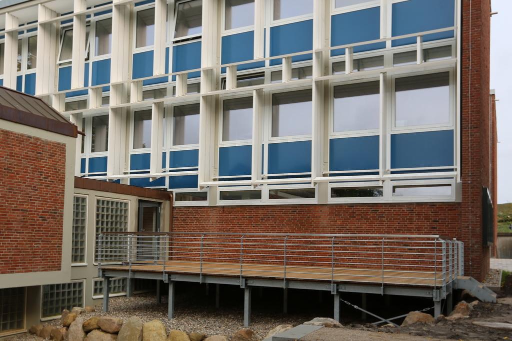 Stahlkonstruktion, Podest, Geländer, Stahlbau, Gawron