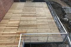 Terrasse Podest  Stahlkonstruktion Treppe, Stahlbau Schlosserei Gawron