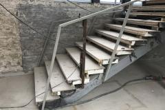 Treppengeländer Sanierung Stahlbau Schlosserei Gawron