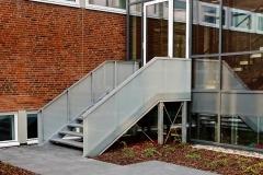 Außentreppe  Stahlkonstruktion  Stahlbau Gawron