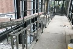 Innentreppe, Geländer, Treppe, Stahlbau Schlosserei Gawron